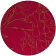 rug #895811 | round graphic rug