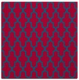 rug #895856 | square blue-green popular rug