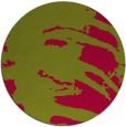 rug #895930 | round abstract rug
