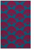 rug #895964 |  blue-green graphic rug