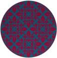 rug #896114 | round damask rug