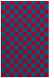 rug #896289 |  blue-green retro rug