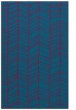 rug #896409 |  blue-green natural rug