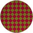 rug #896476   round check rug