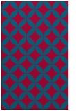 rug #896669    blue-green circles rug
