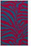 rug #896849 |  blue-green animal rug