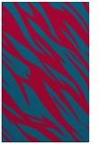 rug #896909    blue-green abstract rug