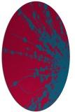 rug #897386 | oval natural rug