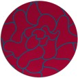 rug #897434 | round abstract rug