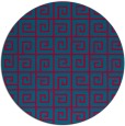 rug #897614 | round graphic rug