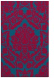 rug #898269 |  blue-green traditional rug