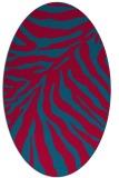 rug #898405 | oval popular rug