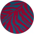 rug #898413 | round stripes rug