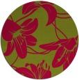 rug #898555 | round natural rug