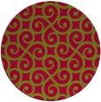 rug #899316 | round traditional rug