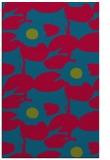 rug #899589 |  blue-green natural rug