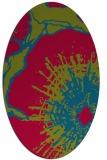 rug #899926   oval abstract rug