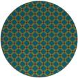rug #900034 | round check rug