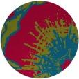 rug #900374 | round graphic rug