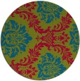 rug #900495   round damask rug