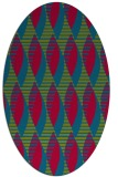 rug #900627 | oval graphic rug