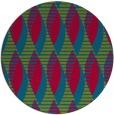 rug #900635 | round graphic rug