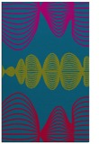 rug #900689    blue-green circles rug