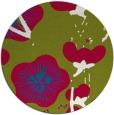 rug #900875 | round gradient rug