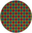 rug #901134 | round check rug