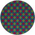 rug #901135 | round check rug