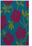 rug #901149 |  blue-green natural rug