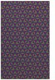 rug #902029 |  blue-green geometry rug