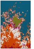 rug #902269 |  blue-green abstract rug