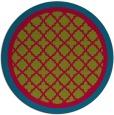 rug #902355 | round borders rug