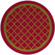 rug #902375   round borders rug