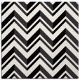 rug #902569   square white stripes rug