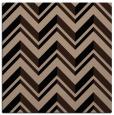 rug #902577 | square black graphic rug