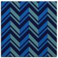 rug #902597 | square blue stripes rug