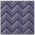 rug #902657 | square blue-violet stripes rug