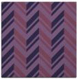 rug #902665 | square purple graphic rug