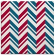 rug #902685 | square red graphic rug