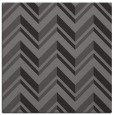 rug #902713 | square brown graphic rug