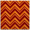 rug #902765 | square orange rug