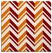 rug #902769   square orange graphic rug