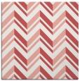 rug #902793 | square white stripes rug