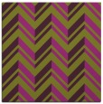 rug #902801 | square purple stripes rug