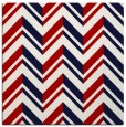 rug #902813 | square red stripes rug