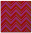 rug #902825 | square red graphic rug