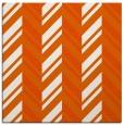 rug #902841 | square red-orange graphic rug