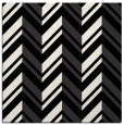 rug #902845 | square black graphic rug